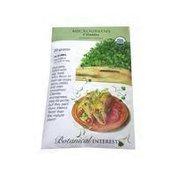 Botanical Interests Organic Microgreen Cilantro