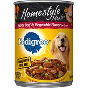 Pedigree Hearty Beef & Vegetable Flavor in Gravy Dog Food