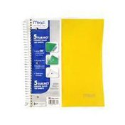 Mead Subject College Ruled 180 Sheets Notebook 11 In x 8 1/2 In