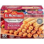 El Monterey Restaurante Style Chicken & Cheese  Taquitos