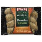 Richard's Sausage, Boudin