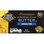 First Street Butter, Unsalted, European Style