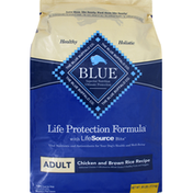 Blue Dog Food, Chicken and Brown Rice, Adult