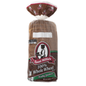 Aunt Millie's Bread, 100% Whole Wheat, Healthy Goodness