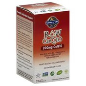 Garden of Life CoQ10, 200 mg, Capsules