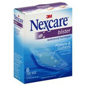 Nexcare Bandages, Waterproof, Blister, One Size