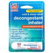 Rite Aid Nasal Decongestant, Inhaler