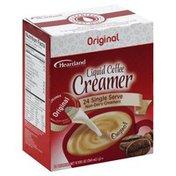 Heartland Creamer, Liquid Coffee, Original, Single Serve