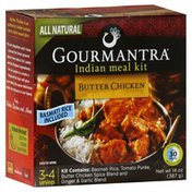 Gourmantra Indian Meal Kit, Butter Chicken, Mild