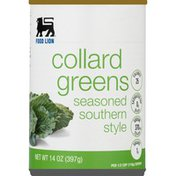 Food Lion Collard Greens, Seasoned, Southern Style, Can