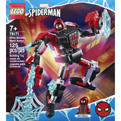 LEGO Building Toy, Miles Morales Mech Armor, 125 Pieces, 7+