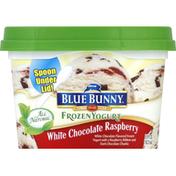 Blue Bunny Frozen Yogurt, White Chocolate Raspberry