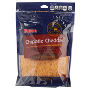 Hy-Vee Chipotle Cheddar Finely Shredded Cheese With Chipotle Peppers