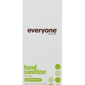 Everyone Hand Sanitizer Spray, Peppermint + Citrus