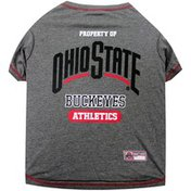 Pet First Large Ohio State Buckeyes T Shirt