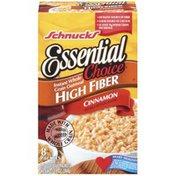 Schnucks Instant Essential Choice High Fiber Cinnamon 1.58 Oz Oatmeal