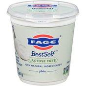 FAGE Lactose Free Plain Greek Strained Yogurt