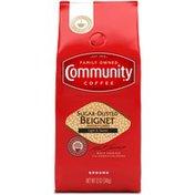 Community Coffee Sugar Dusted Beignet Ground Coffee
