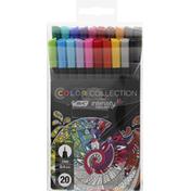 BiC Fineliner, Color Collection, Fine (0.4 mm)