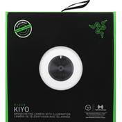 Razer Broadcasting Camera, with Illumination, Kiyo