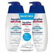 Aquaphor Baby Wash & Shampoo Value Pack