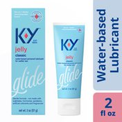 K-y® Jelly Personal Water Based Lubricant, Premium Water Based Lube For Men, Women & Couples