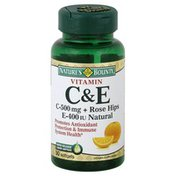 Nature's Bounty Vitamin C & E, Rapid Release Liquid Softgel