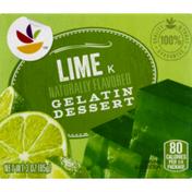SB Gelatin Dessert, Lime