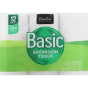 Essential Everyday Bathroom Tissue, Basic, 2 Ply