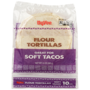 Hy-Vee Flour Soft Tacos Tortillas