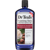Dr. Teal's Foaming Bath, with Pure Epsom Salt, Shea Butter & Almond Oil
