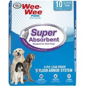Four Paws Wee-Wee Super Absorbent Adult Dog Quilted Pads