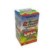 Nature's Plus Cherry Flavor Animal Parade DHA Omega 3 Fatty Acid Supplement