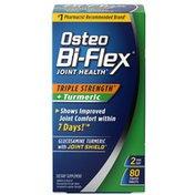 Osteo Bi-Flex Joint Health Triple Strength + Turmeric - 80 CT