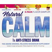 Natural Vitality Anti-Stress Drink, Natural Calm, Flavor Sampler, Single-Serve Packs