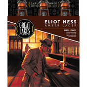 Great Lakes Brewing Company Eliot Ness Handcrafted Amber Lager, Bottles