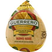 Guerrero Tortillas, Corn, King Size