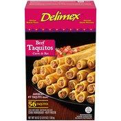 Delimex Beef Corn Taquitos Frozen Snacks