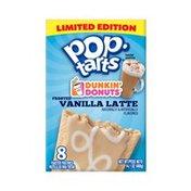Kellogg's Pop-Tarts Breakfast Toaster Pastries Frosted Vanilla Latte