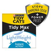 Purina Tidy Cats LightWeight Clumping Cat Litter, Tidy Max Instant Action Formula