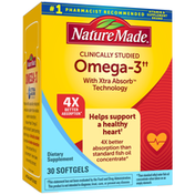 Nature Made Omega-3 with Xtra Absorb Technology