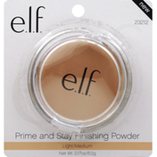 e.l.f. Prime and Stay Finishing Powder, Light/Medium