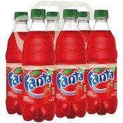 Fanta Strawberry Soda Fruit Flavored Soft Drink