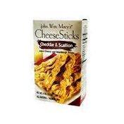 John Wm. Macy's Cheddar & Scallion Cheesesticks