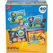 Nabisco Variety Pack Graham Snacks, Variety Pack, 40 Packs