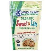 Wholesome Sugar and Stevia Blend, Organic, Sweet & Lite