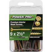 Power Pro Wood Screws, Premium Interior