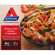 Atkins Chicken & Vegetables, Mexican-Style