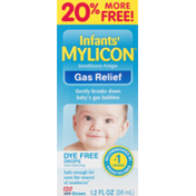Mylicon Gas Relief Drops 120 Doses Dye Free