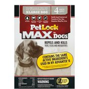 Petlock Max for Dogs XLarge Dog Monthly Topical   XLarge Dog Monthly Topical Treatment